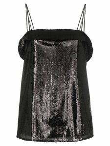 Deitas sequin cami top - Black
