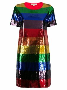 Michael Michael Kors Rainbow sequin dress - Blue