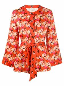 Temperley London dragonfly jacket - Red