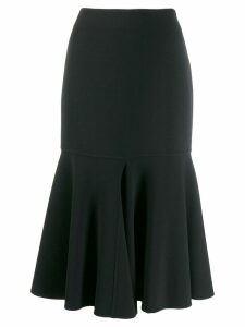 Giorgio Armani flared skirt - Black