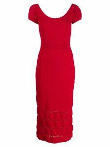Temperley London Kasha knit dress - Red