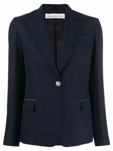 Golden Goose slim-fit jewel button blazer - Blue