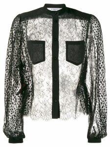 Givenchy sheer blouse - Black