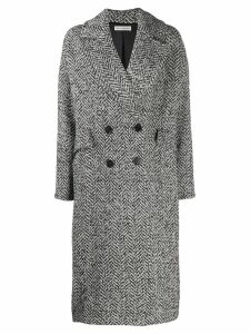 Ulla Johnson Harden midi coat - Black