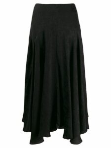 Chloé asymmetric midi skirt - Black