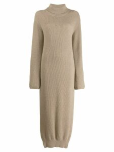 Nanushka Canaan knitted dress - Brown