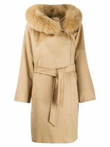 Max Mara Studio double breasted coat - Brown