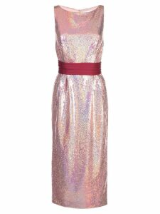 Markarian sequined midi dress - Pink