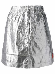 Calvin Klein Jeans high waisted skirt - Silver