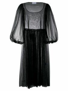 Molly Goddard tulle midi dress - Black