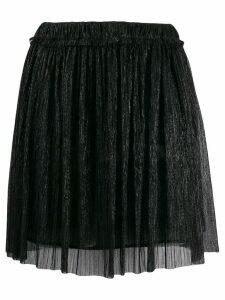 Isabel Marant Étoile Benedicte pleated mini skirt - Black