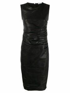 P.A.R.O.S.H. ruched midi dress - Black
