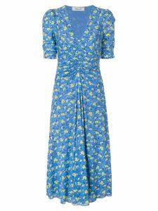 Diane von Furstenberg Koren floral print dress - Blue