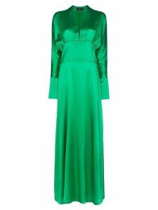Taller Marmo Elvira silk long dress - Green