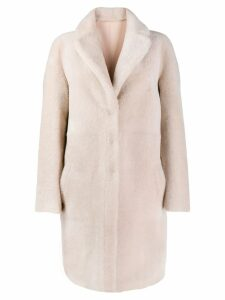 Blancha reversible oversized coat - Neutrals