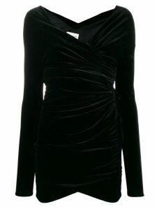 Alexandre Vauthier gathered short dress - Black