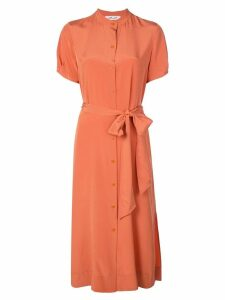 Diane von Furstenberg Addilyn shirt dress - ORANGE