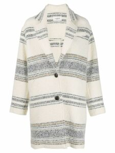 Isabel Marant Étoile Dante single-breasted coat - White