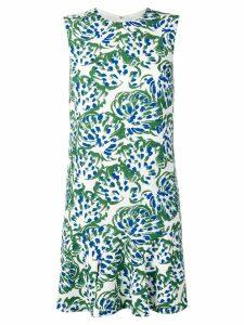 Victoria Victoria Beckham Flounce Hem Shift Dress - Green