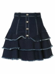 Aje layered skirt - Blue