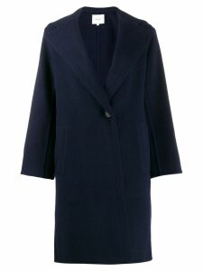 Vince hooded coat - Blue