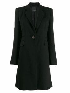 Pinko tailored midi coat - Black