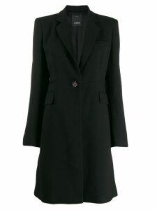 Pinko tailored midi coat - Black