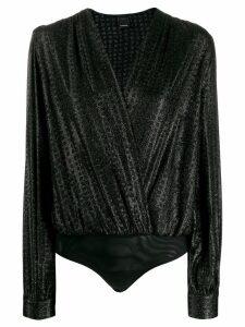 Pinko wrap style body - Black