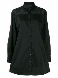 Diesel shirt mini dress - Black