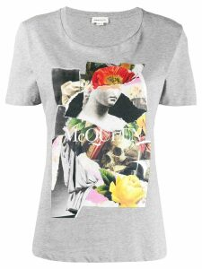 Alexander McQueen printed T-shirt - Grey