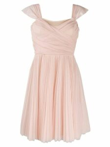 Pinko pleated tulle dress
