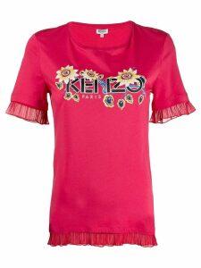 Kenzo logo printed T-shirt - Pink