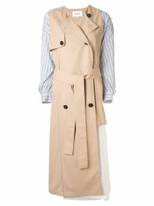Enföld trench style dress - Brown