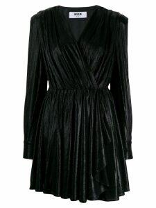 MSGM V-neck dress - Black