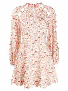 Zimmermann Goldie floral dress - ORANGE