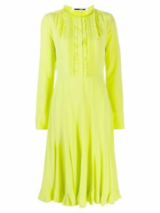 McQ Alexander McQueen ruffled midi dress - Green