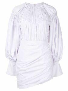 Acler Fairfax dress - White