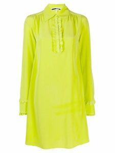 McQ Alexander McQueen ruffle trimmed dress - Green