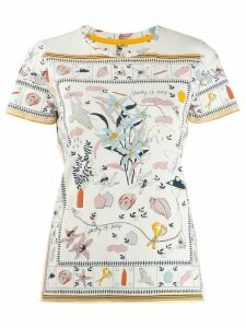 Tory Burch Poetry Of Things T-shirt - White