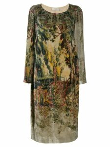 Etro printed sweater dress - Neutrals