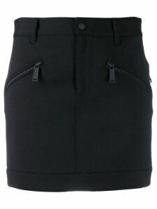 Dsquared2 zipped pocket mini skirt - Black