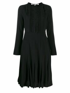McQ Alexander McQueen ruffled midi dress - Black