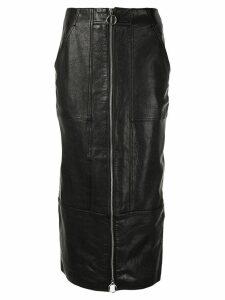 Acler Middleton midi skirt - Black