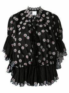 Acler Spencer blouse - Black