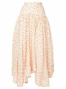 Acler Linton skirt - Neutrals