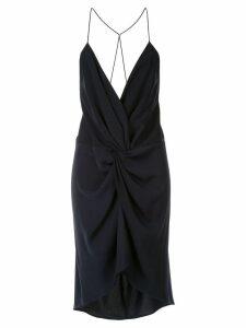 Acler Jenkins twist dress - Blue