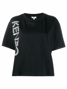 Kenzo boxy logo print T-shirt - Black