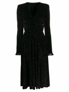 Philosophy Di Lorenzo Serafini glitter detail dress - Black