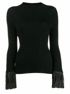 Philosophy Di Lorenzo Serafini stud detail knitted top - Black