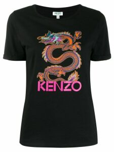 Kenzo Dragon print T-shirt - Black